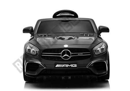 Mercedes SL63 Electric Ride On Car - Black Painted