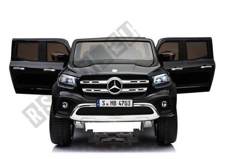 Mercedes X Black Painting - Electric Ride On Car