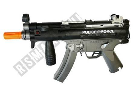 Military Toy Set Soft Bullet Pistols MP5 Revolver