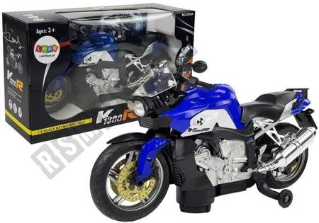 Motorcycle Blue Battery