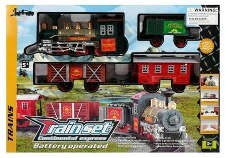 Musical Train Battery Powered with Light and Sound