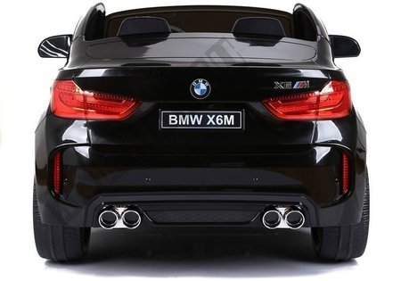 NEW BMW X6M Black Painting - Electric Ride On Vehicle