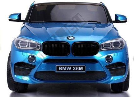 NEW BMW X6M Blue Painting - Electric Ride On Vehicle