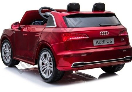 New Audi Q5 2-Seater Red Painting - Electric Ride On Car
