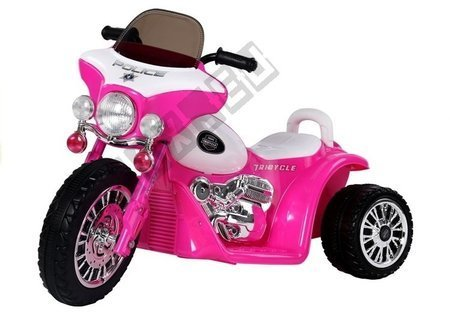 Pink Electric Ride On Motorcycle JT568