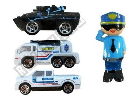 Police Car with Transport Function Lights & Sound