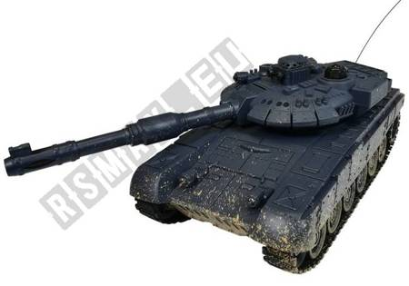 R/C Tank T90 1:28 Black Stained
