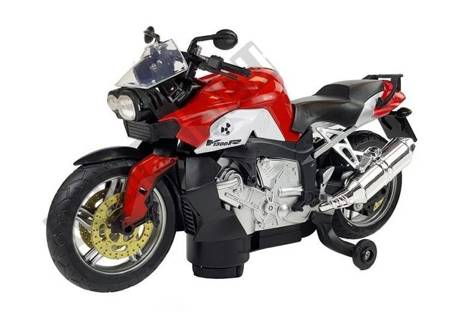 Red Motorcycle Battery-operated