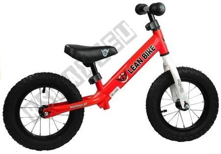 Running Bike ROCKY Red Pumped Wheels