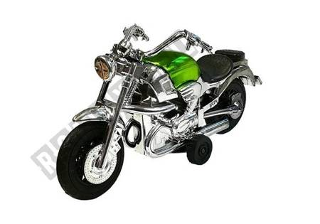 Set of Motorbike in motion 3 pieces