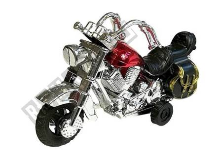 Set of Motorbike in motion 4 pieces