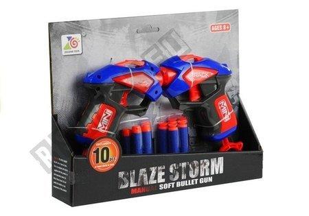 Set of Pistols 10 Foam Cartridges