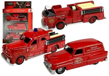Set of fire brigade vehicles 3 pieces