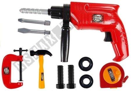 Tool Set in a Case Drill Screws Hammer