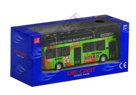 Tourist Coach Double Decker Openable Door Green
