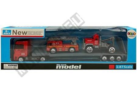 Toy Cars with Tow Truck Set No. 3