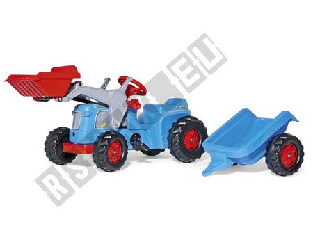 Tractor for Rolly Kid Classic pedals blue !