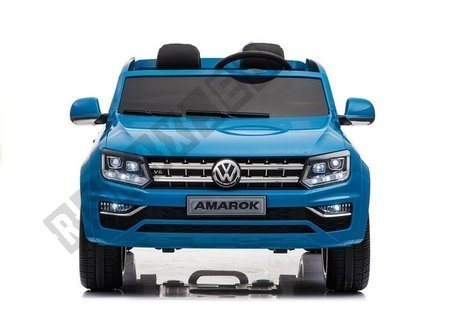VW Amarok Blue + MP4 - Ride on Car
