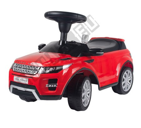 Vehicle LAND RANGER ROVER EVOQUE pusher red