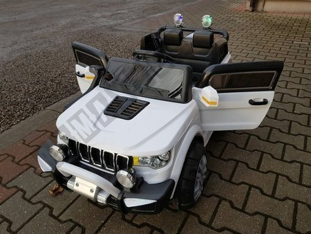 White Electric Ride On Car KP-6188