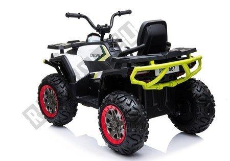 XMX607 Electric Ride On Quad - White