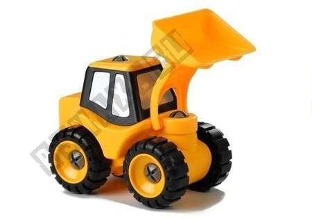 Yellow Excavator For Unscrewing for Little Car Mechanic