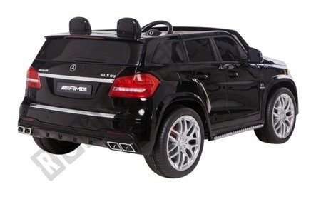 Auto Batterie Mercedes Benz AMG GLS63 schwarz