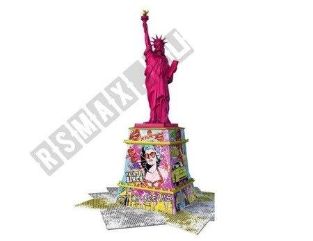 3D Puzzle Freiheitsstatue POP ART EDITION 108 Elemente