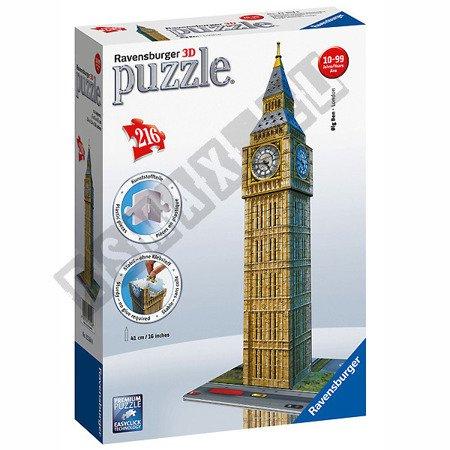 3D Räumliches Puzzle Big Ben 216 Elemente