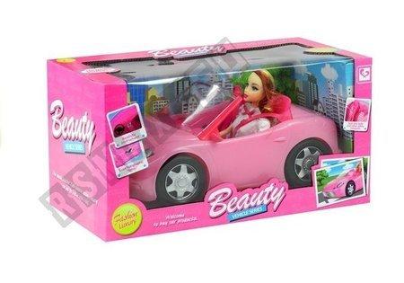 Auto Cabrio Puppe Set Spielzeug für Kinder 3+