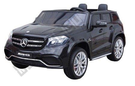 Auto auf Batterie Mercedes GLS63 schwarz