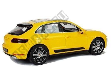 Auto na radio żółte