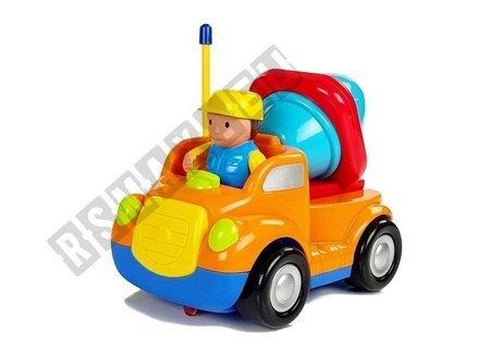Auto wywrotka z kierownicą