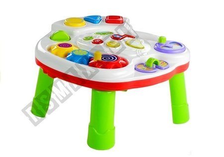 Education Table for Baby Shapes Numbers plays music