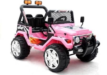 Elektroauto Für Kinder JEEP Raptor Rosa Auto 2x45W