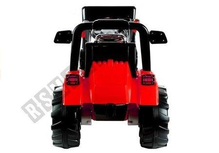 Elektroauto für Kinder Baggerlader Traktor Schlepper ZP1005 Rot 2.4G