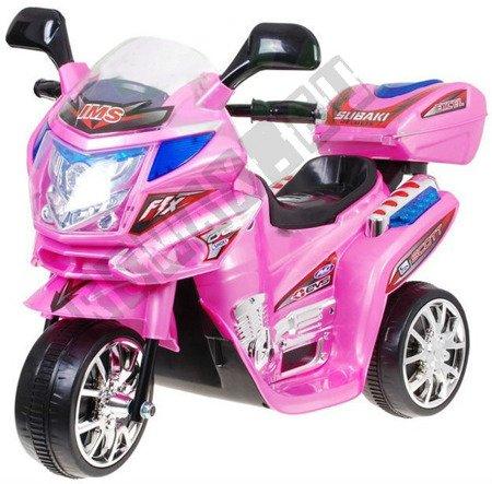 Elektromotorrad Kindermotorrad Kinderelektroauto Kinderfahrzeug Dreirad rosa