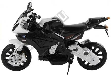 Elektromotorrad für Kinder BMW S1000RR Silbern EVA-Reifen Ledersitz Fahrzeug