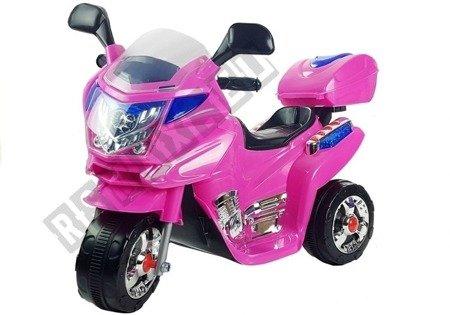 Elektromotorrad für Kinder HC8051 Rosa Felgen Motorrad Melodien