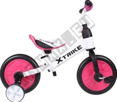 Fahrräder 2x1-Dreirad XTRIKE RUN rosa