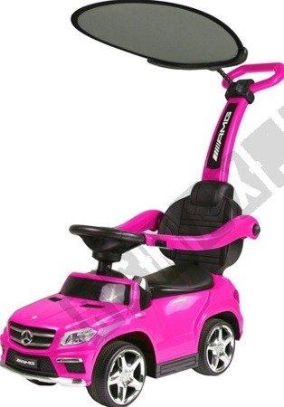 Fahrzeug-Schieber Mercedes GL63 Sonnenschirm rosa