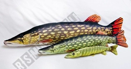 GABY Kissen Kuscheltier Fisch HECHT Stofftier Plüschtier Plüschfisch Geschenk