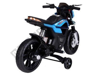 JT5158 Elektromotorrad für Kinder JT5158 Blau Fahrzeug LED Frontscheinwerfer