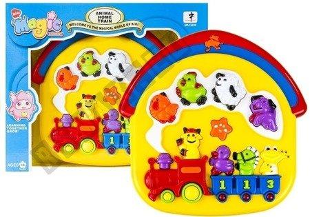 Kinder Piano Musikalischer Zug Tiergeräusche Sounds Spielzeug für Kinder