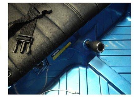Kinderauto BMW X6M Blau lackiert
