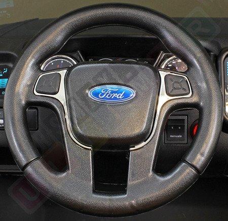 Kinderauto FORD RANGER Lizenziert Elektroauto Kinderfahrzeug 12V NEU 2017! Schwarz matt