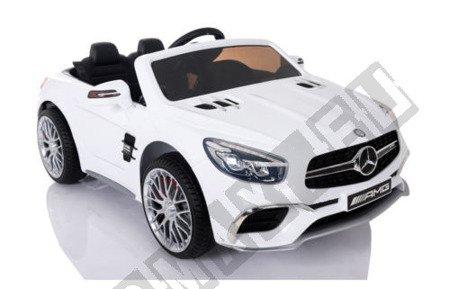 Kinderauto Mercedes-Benz SL65 AMG Coupe Elektroauto Kinderfahrzeug Ledersitz