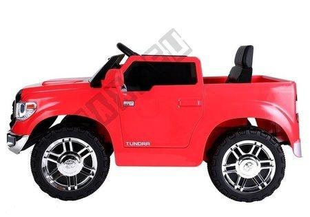 Kinderauto Toyota Tundra Rot lackiert