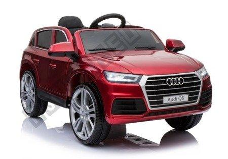 Kinderfahrzeug AUDI Q5 Rot lackiert