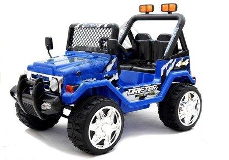 Kinderfahrzeug Jeep Raptor S618 EVA Blau Auto 2x45W Frontscheinwerfer Auto